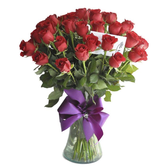 50 Rosas rojas